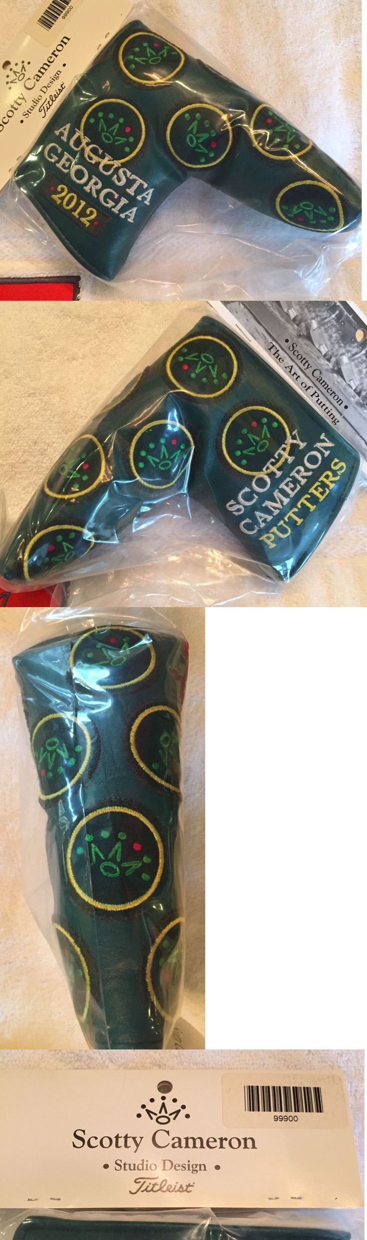 Club Head Covers 18930: Scotty Cameron 2012 Masters Dancing Crowns Green Augusta Georgia Putter Cover -> BUY IT NOW ONLY: $129.0 on eBay!