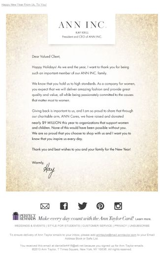 71 best Email - Holiday Cards images on Pinterest Holiday cards - holiday letter