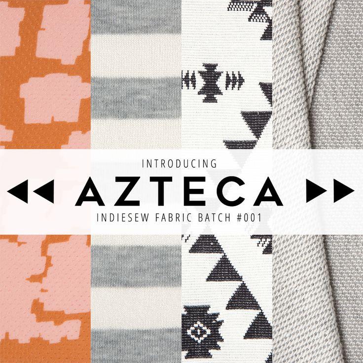 Introducing Azteca: Indiesew's First Fabric Batch | Indiesew.com