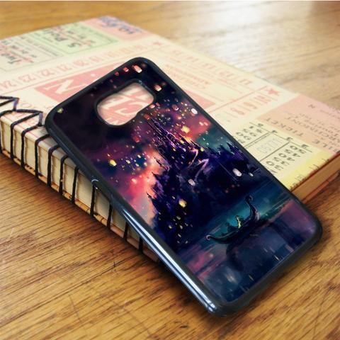 Disney Tangled Lights Art Samsung Galaxy S6 Edge Case