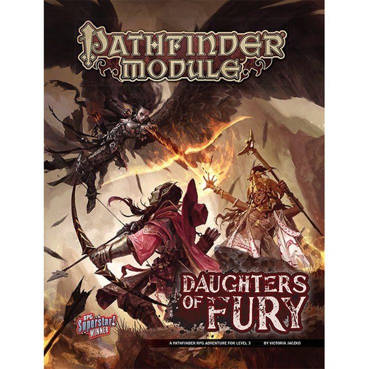 Pathfinder Daughters of Fury Adventure Module
