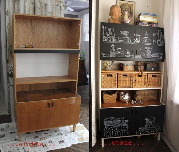 Ilyen volt, ilyen lett: bútorfelújítási ötletek | A napfény illata