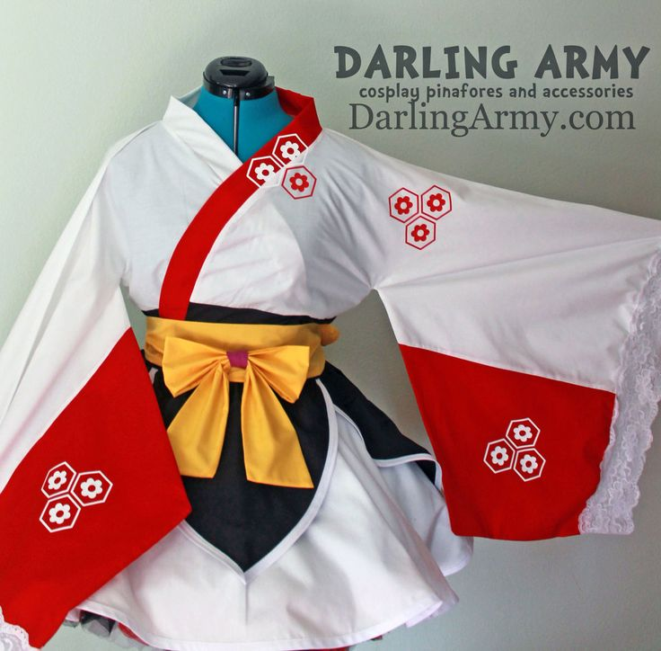 Sesshoumaru Inuyasha Cosplay Lolita Kimono Dress by DarlingArmy.deviantart.com on @deviantART