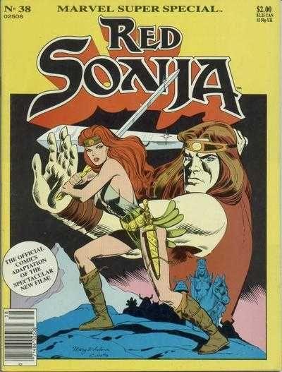Marvel Comics Super Special Issue# 38