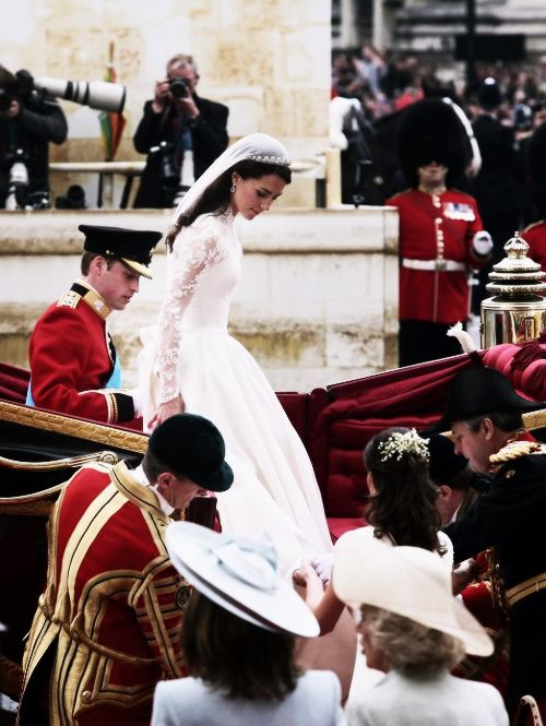 Prince William and Kate Middleton wedding on 29 April 2011 in Westminster Abbey, London