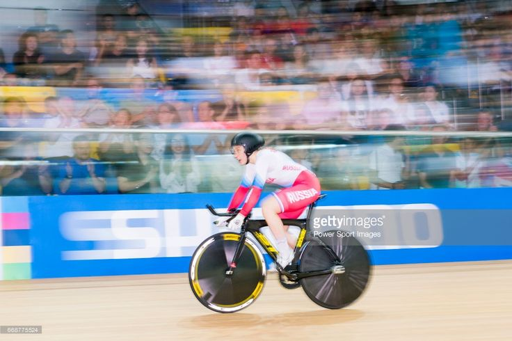 #TWC2017 Daria Shmeleva of Russia competes in Women's 500 TT Finals during 2017 UCI World Cycling on April 15, 2017 in Hong Kong, Hong Kong.