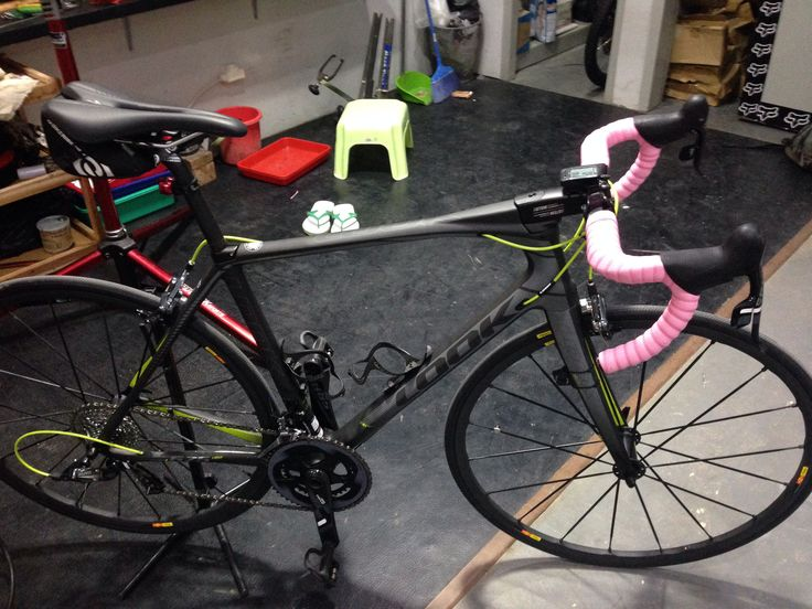 "Look 675 Light Sram Force 22 Mavic Ksyrium SLR ""My first road bike"""
