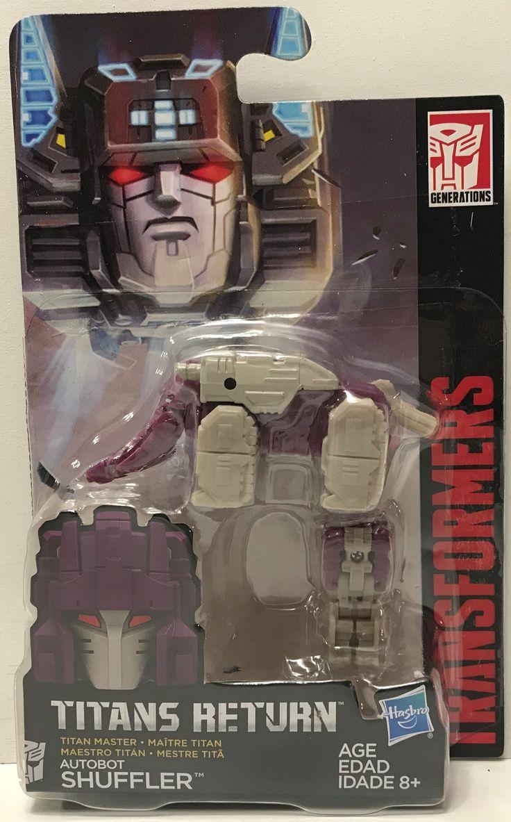 TAS039186 - 2016 Hasbro Transformers Generations Titans Returns - Shuffler