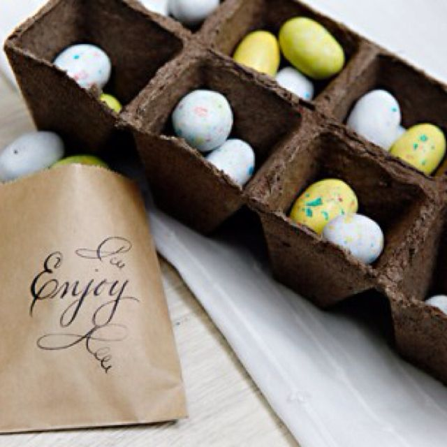 I love this maybe because of the cute little eggs or just because it's chocolate