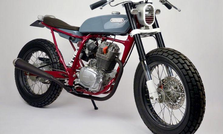Custom of the Week: Honda FTR233 by Tim Cumper