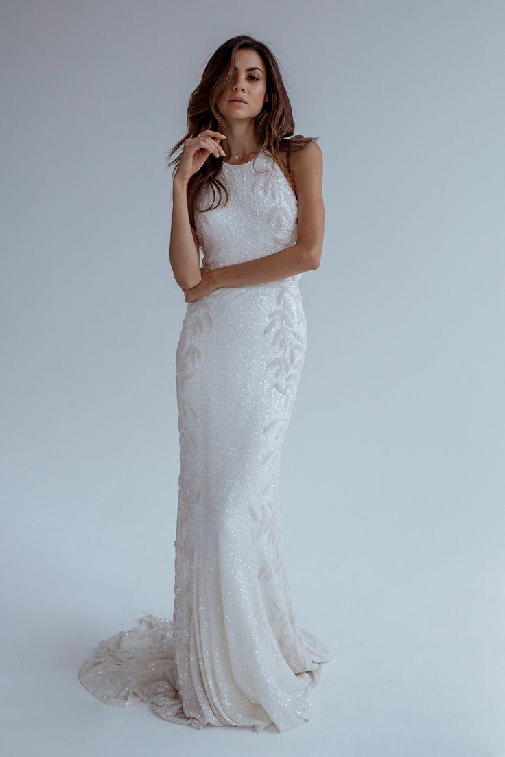 405 best Halter Wedding Dresses images on Pinterest | Wedding frocks ...