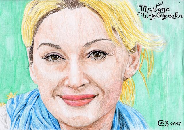 Kasia Oetelaar Art: Portret / Portrait: Martyna Wojciechowska