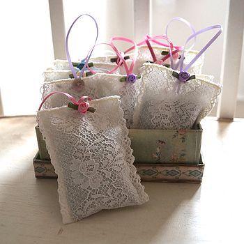 Lace Lavender Sachet