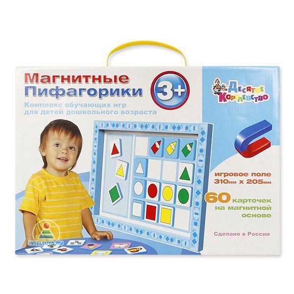Магнитные пифагорики №1, комплекс обучающих игр (Десятое королевство)