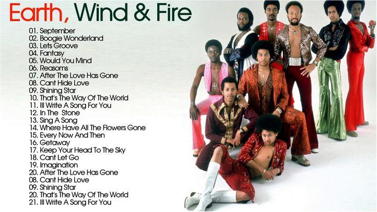Earth, Wind & Fire Greatest Hits | Best Songs Of Earth, Wind & Fire