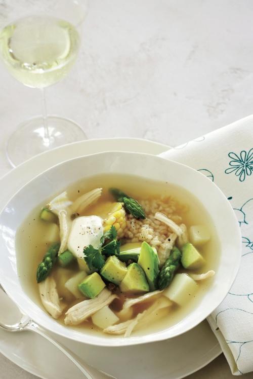 Colombian Chicken Soup Recipe