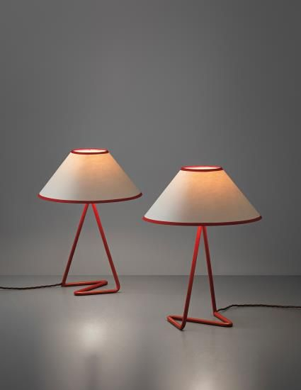 modernlove20:   Favorite Picks: Phillips: Design Jean RoyèrePair of 'Flic Flac' table lamps, 1950s Full preview: http://www.phillips.com/auctions/auction/UK050314