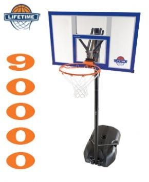 """Stojak do koszykówki 44"""" Boston 90001  http://www.lifetimebasketball.pl"""