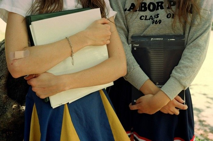 School Spirit by Petra Collins for Rookiemag
