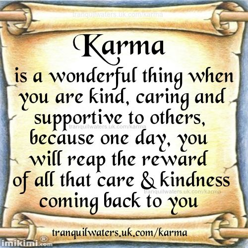 karma what goes around comes around What goes around comes around what goes up must come down now who's crying, desiring to come back to me what goes up must come down it's called karma, baby.
