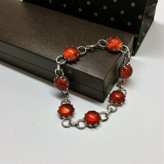 20 cm Wristband Bracelet Silver 835 Art Deco vintage SA447