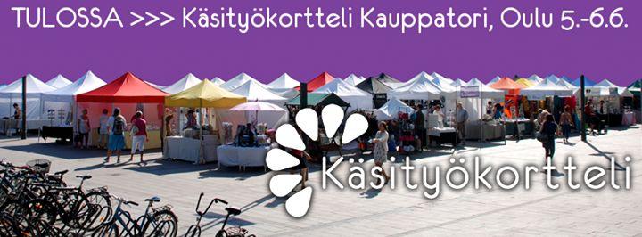 Käsityökortteli Oulu 5.-.6.6.2015