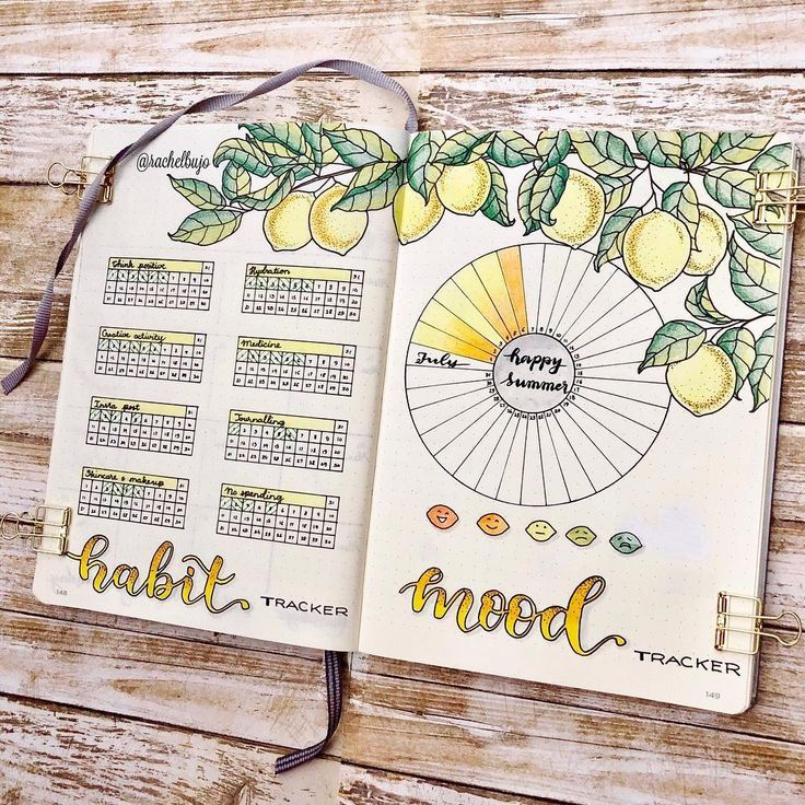 25 Bullet Journal Habit Trackers to help you build better habits