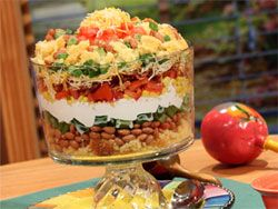 Mexican Corn Bread Salad | Indiana's NewsCenter: News, Sports, Weather, Fort Wayne WPTA-TV, WISE-TV, CW, and MyFOX | Mr. Food