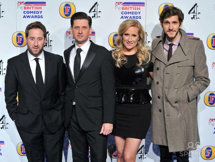 British Comedy Awards (Presentation) (Jim Howick,Laurence Rickard,Martha Howe-Douglas & Mathew Baynton)