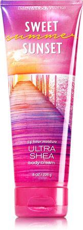 Sweet Summer Sunset Ultra Shea Body Cream - Signature Collection - Bath & Body Works