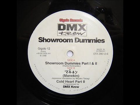 [Gigolo12 | 1996] Dmx Krew - Showroom Dummies (Part i & ii)