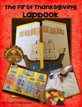 Thanksgiving Lapbook: The First Thanksgiving;