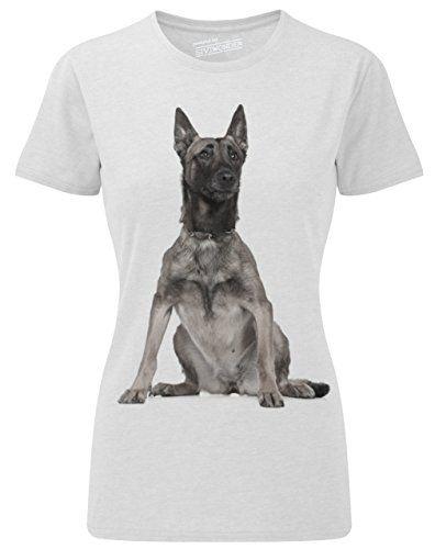 Siviwonder Women T-Shirt Malinois belgian belgischer Schäferhund Hunde white XL Siviwonder http://www.amazon.de/dp/B00UDG17HQ/ref=cm_sw_r_pi_dp_aCydvb183GZ26