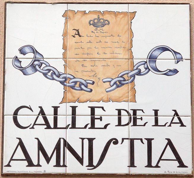 Calle de la Amnistía