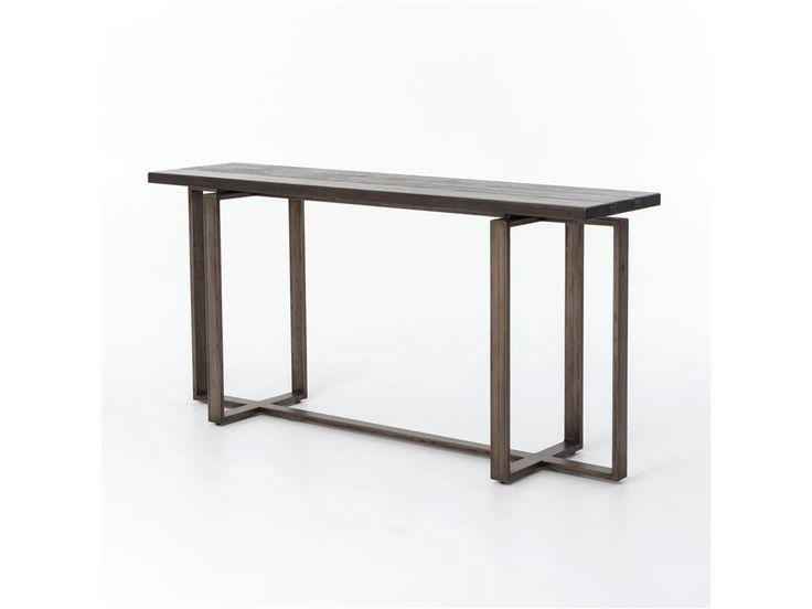 Four Hands Living Room Brant Console Table UWES-007 - Bob Mills Furniture - Oklahoma City, OKC, Amarillo, Lubbock, Odessa, Midland, Temple, Waco