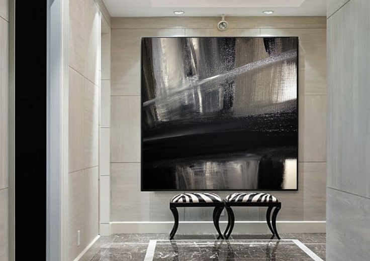 Large scale mono artwork by Anne-Maree Wise