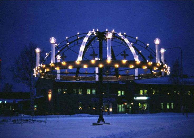 How a swedish town celebrates December 13th!