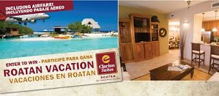 Central Bargains and Giveaways: ENTER TO #WIN TRIPS, CASH, ELECTRONICS ends 10.3 Honduras Vacation Roatan!