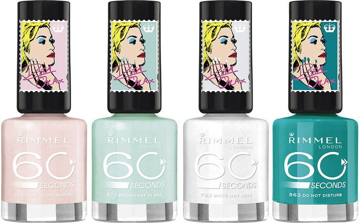 RIMMEL 60 Seconds Colour Rush by Rita Ora -kynsilakka