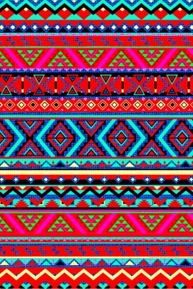 Aztec Wallpaper | ☮ Aztec wallpapers | Pinterest | Style ...