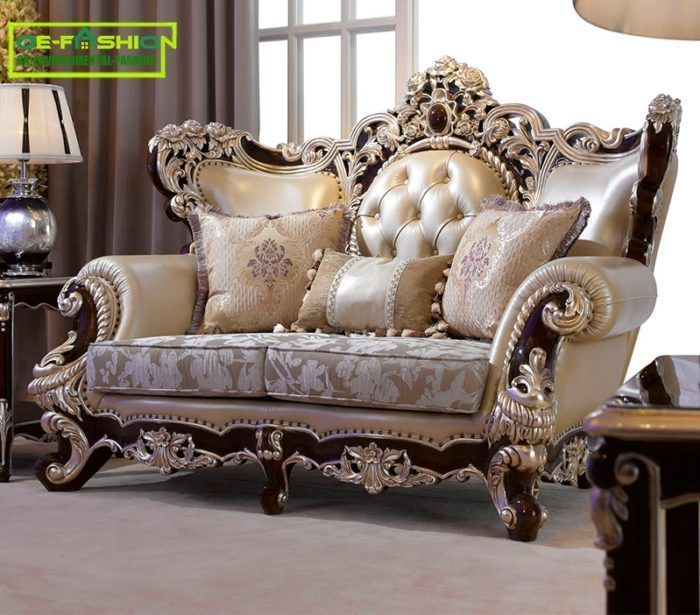 Royal American Style Carving Sofa Oe Fashion Furniture