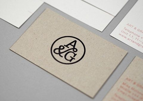 Logo / FFFFOUND! | Art & Graft : Lovely Stationery . Curating the very best of stationery design