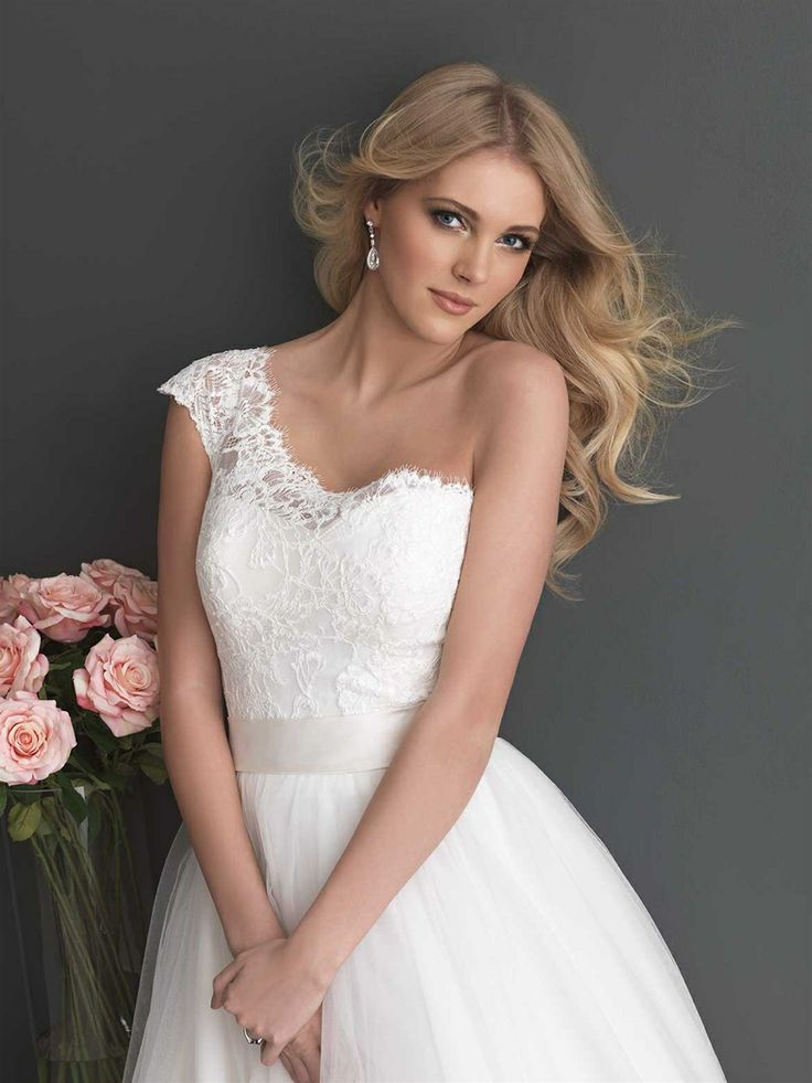 Allure Bridals Romance Collection Style 2650 Available Colours White Ivory Satin