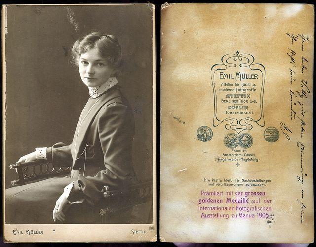 Atelier Emil Müller Stettin Szczecin 1905 Pommern Pomorze | Flickr - Fotosharing!