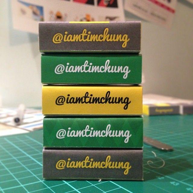 Pocket Propaganda - Matchbox Self Promotion - Matchbox Prototypes