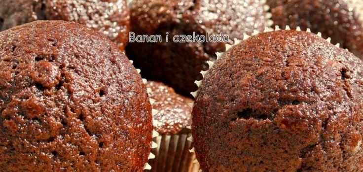 Babeczki czekoladowo-bananowe | W kuchni bez dubli – blog kulinarny – Marieta Marecka