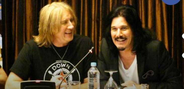 Laughing with Gilby Clarke
