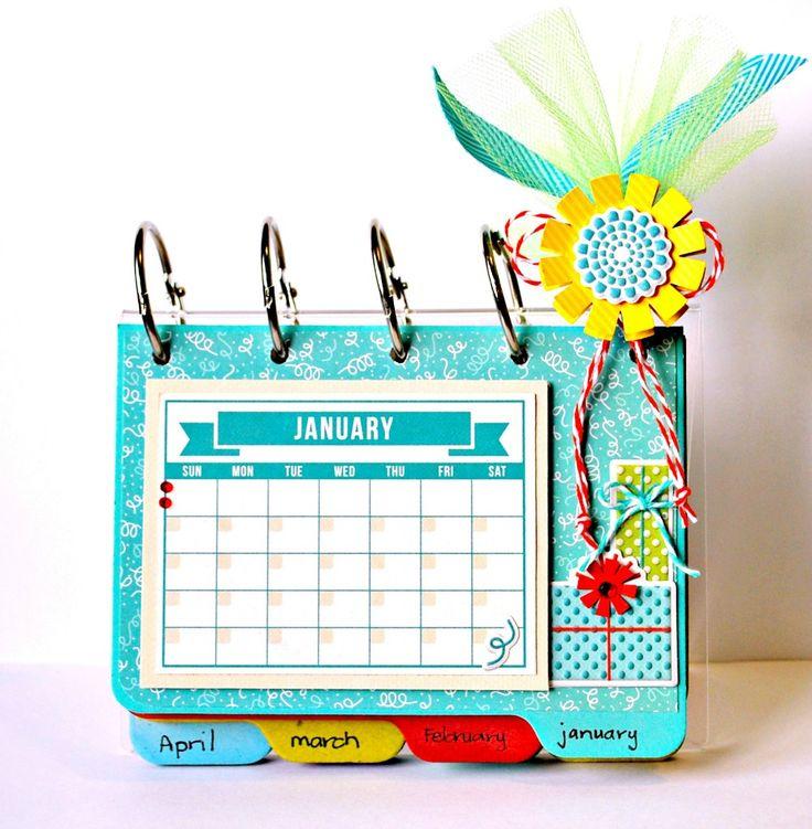 21 best calendarios images on Pinterest | Calendar ideas, Cartonnage ...