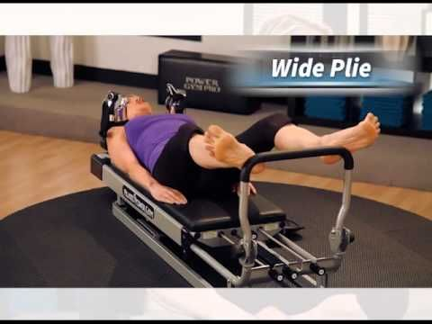 See the many #Pilates exercises you can do on the Pilates Power Gym