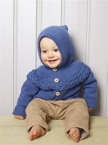 1508: Design 15 Jakke med fletter og hette #strikk #knit #merino